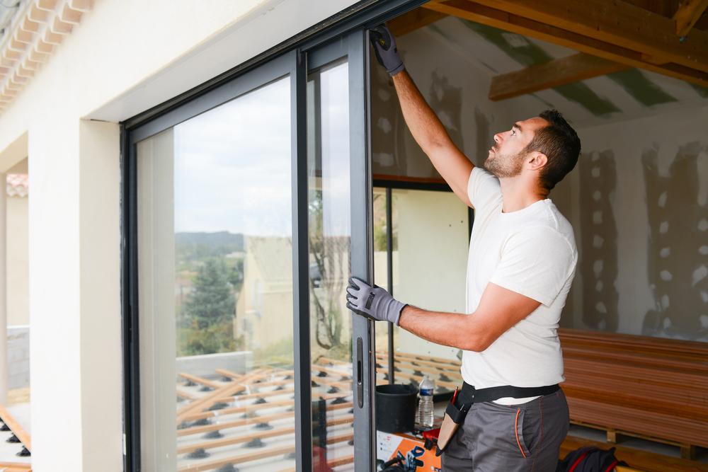 installing-sliding-door