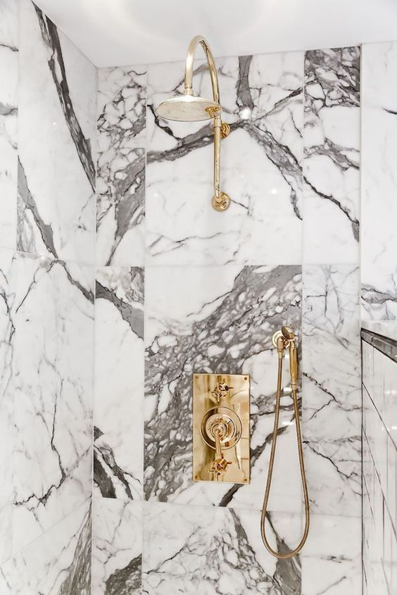 marble brass and gold