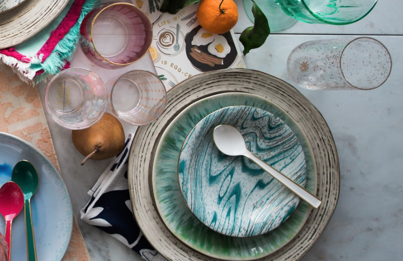 A collection of dishes