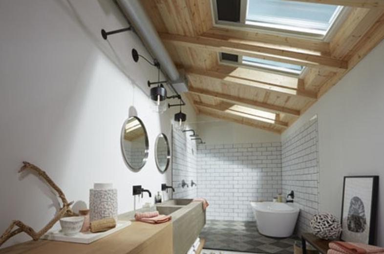 Timber bathroom