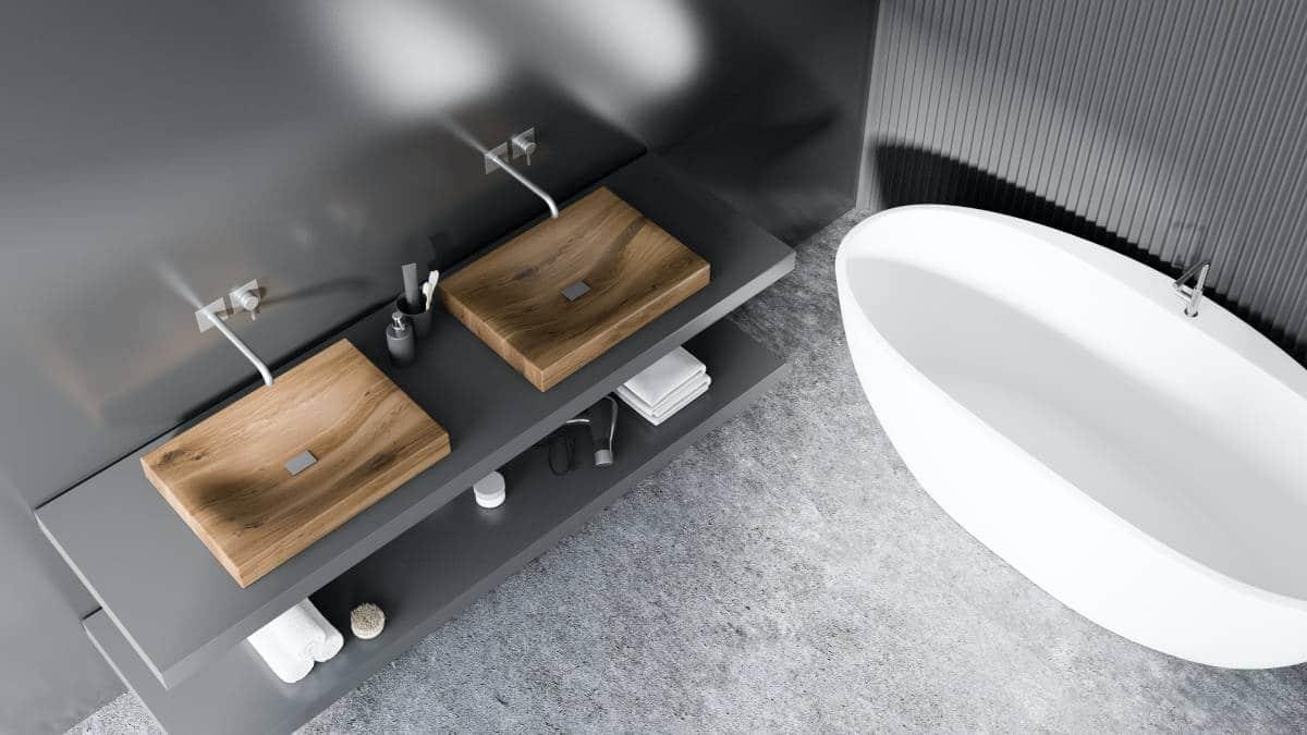 40 Grey bathroom ideas