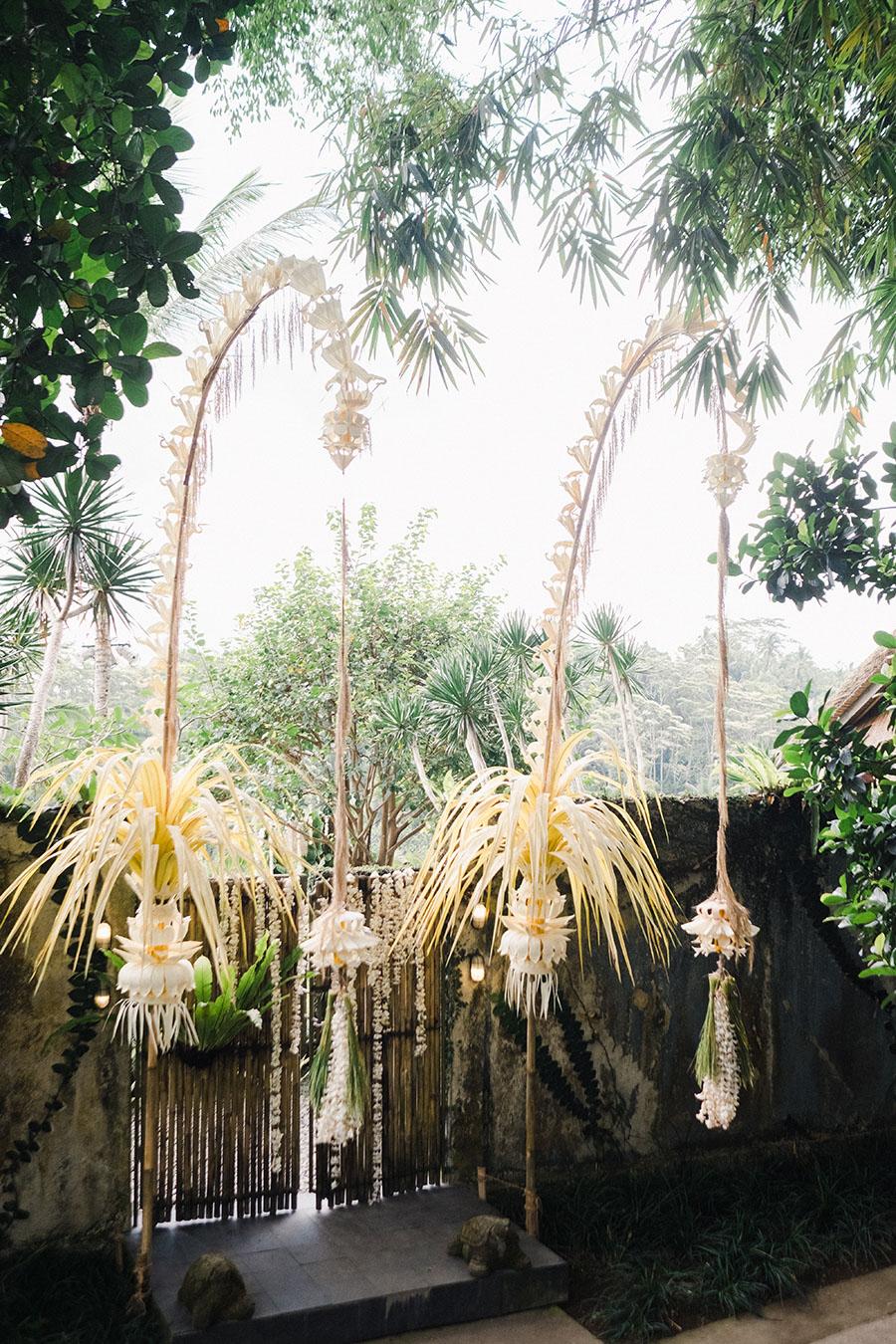Balinese penjor