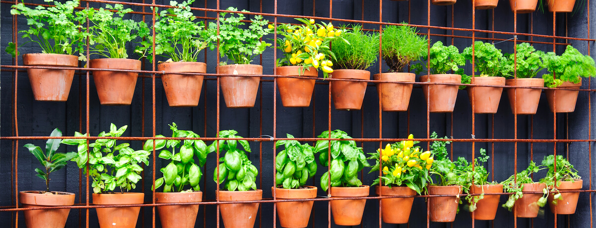 35+ Vertical herb garden ideas