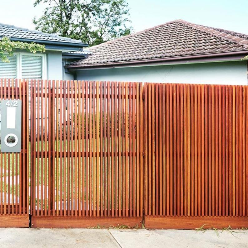 Передний забор