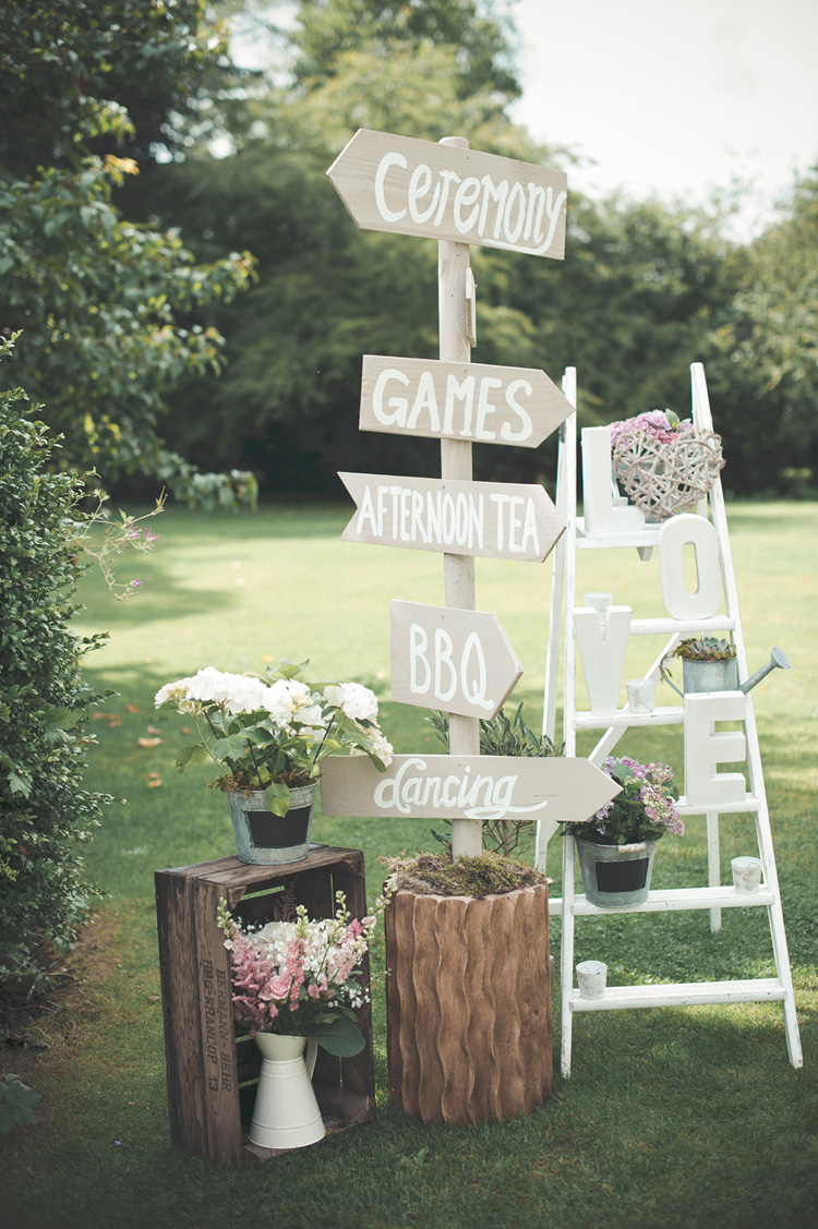 signs for garden party