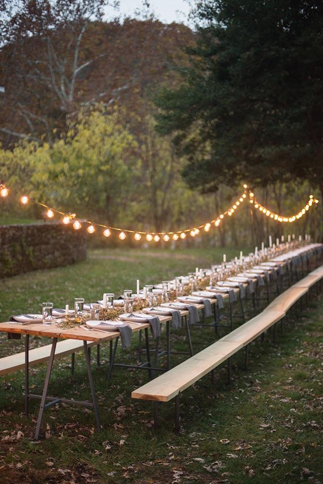 Garden party lights