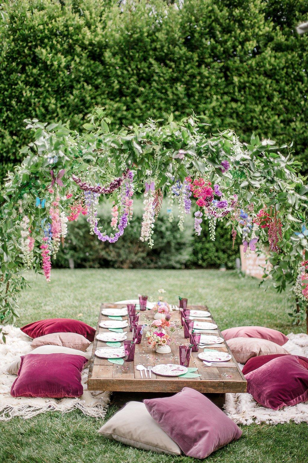vintage boho garden party