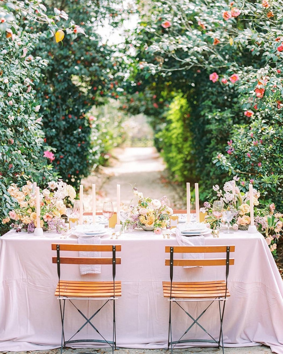 french countryside classical garden party