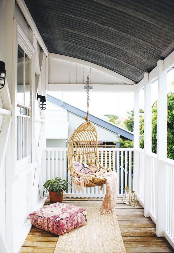 boho verandah