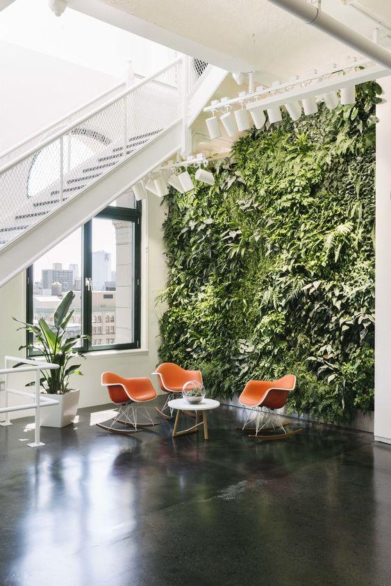 instagram headquarters vertical garden