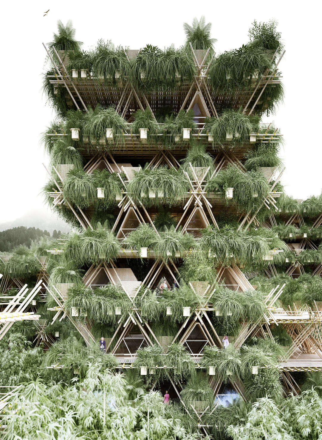 extreme green sustainable architecture