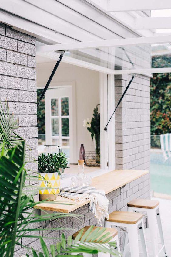 side of house ideas - servery
