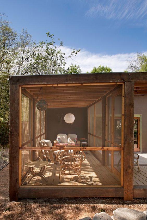 screened verandah ideas