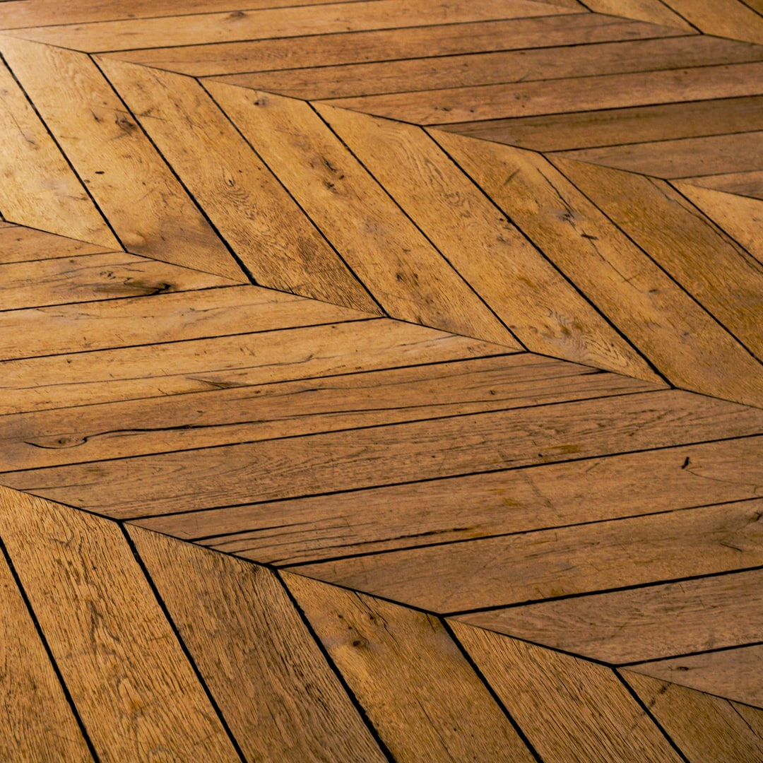 Stained-wood-floors
