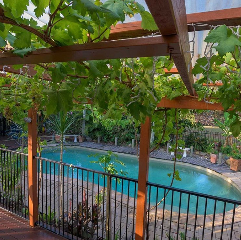 Gazebo pool fence