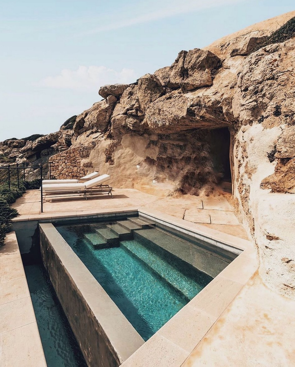Small pool in Spain