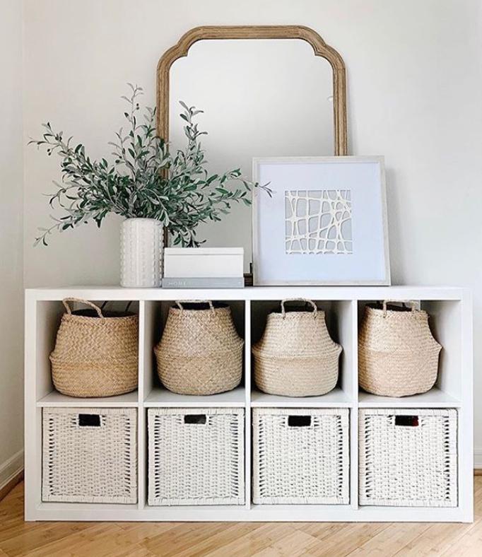 IKEA Bedroom storage idea