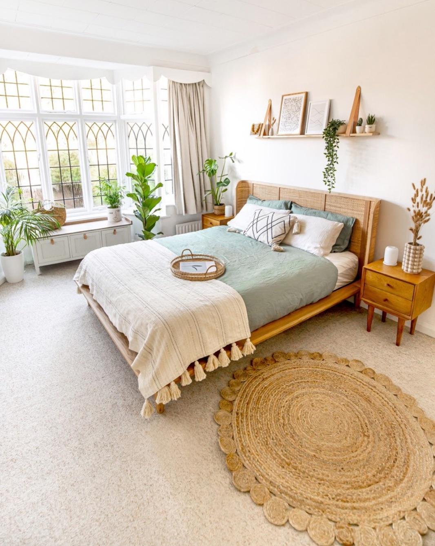 Scandi Boho bedroom