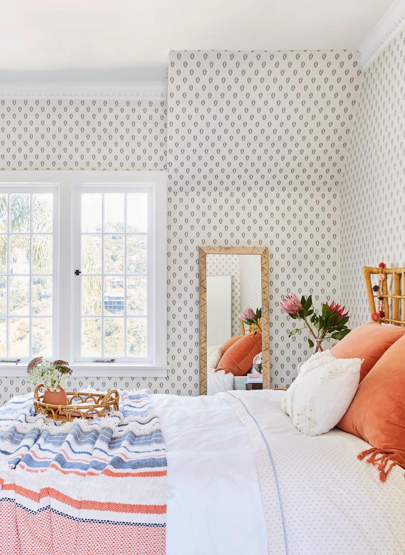 70's boho bedroom