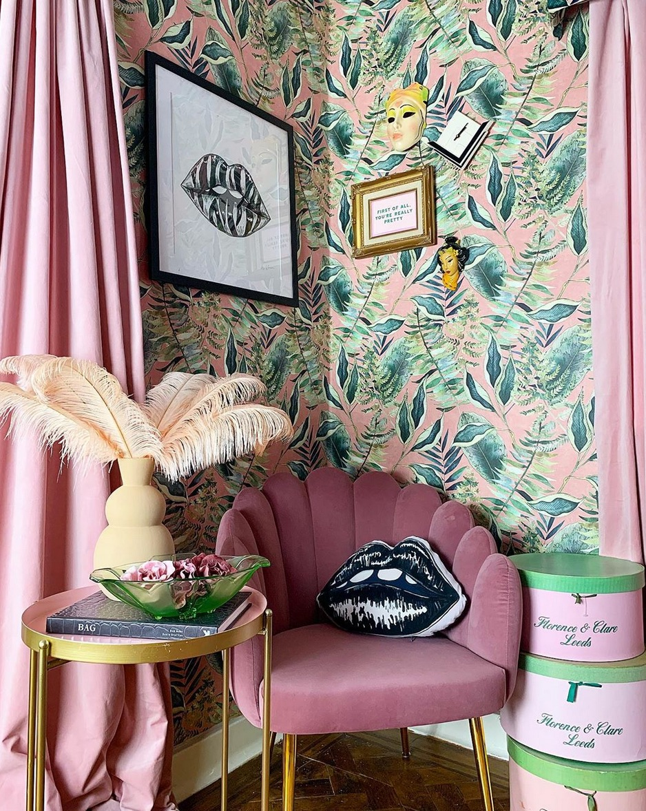 tropical bedroom curtains