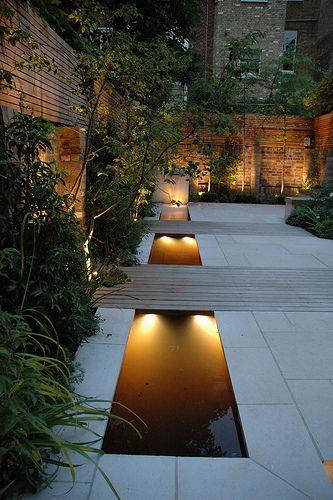 contemporary series of ponds