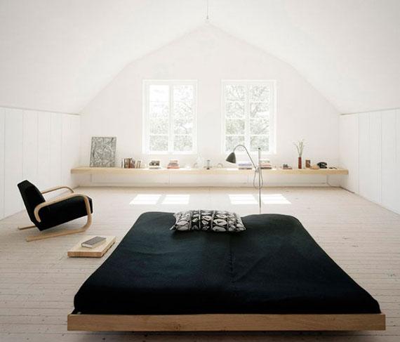 spacious modern farmhouse bedroom