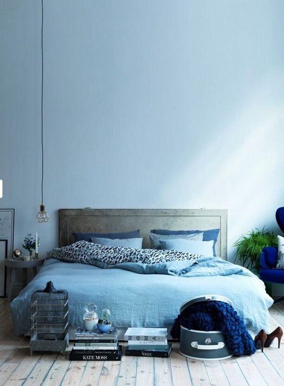 glacier blue bedroom