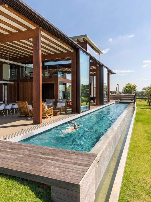 lap pool deck