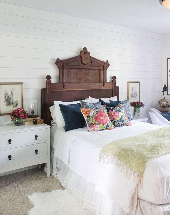 ornate antique bed