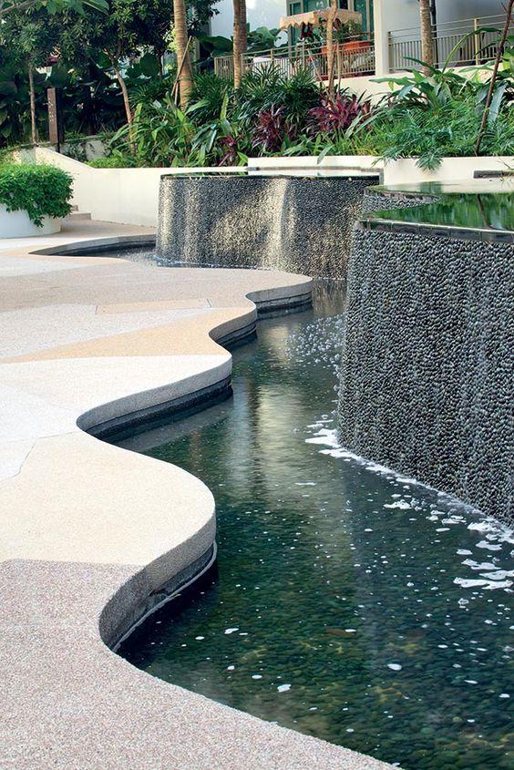 backyard ponds with waterfall