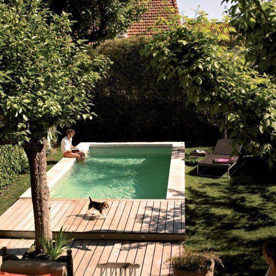 small backyard pool deck ideas