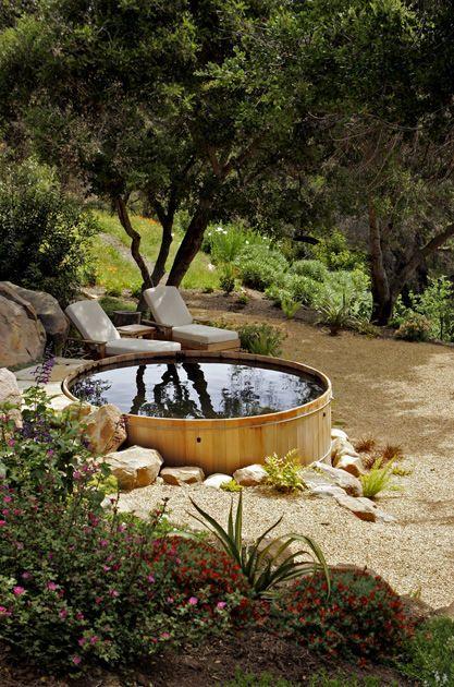 tank backyard ponds