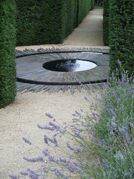 unusual contemporary pond