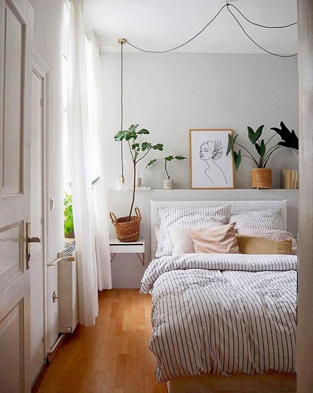 Small scandi bedroom