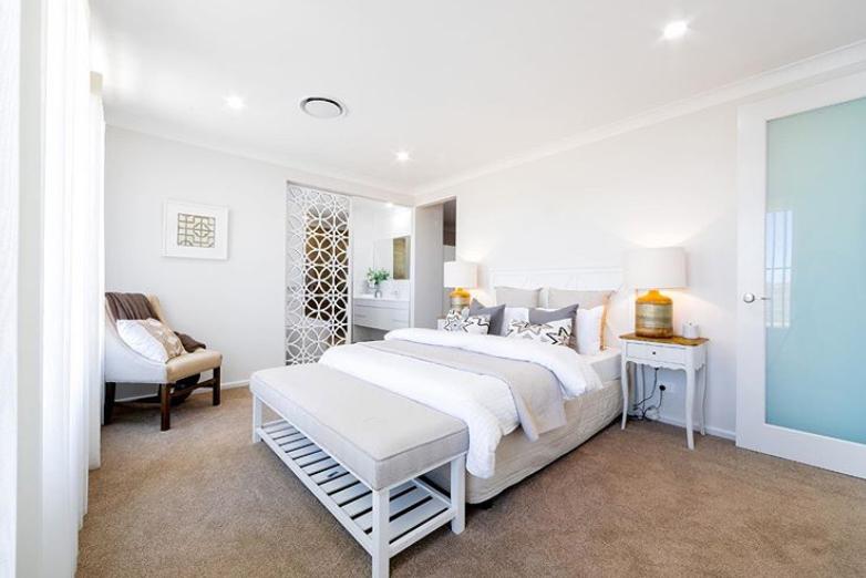 Modern Hamptons bedroom