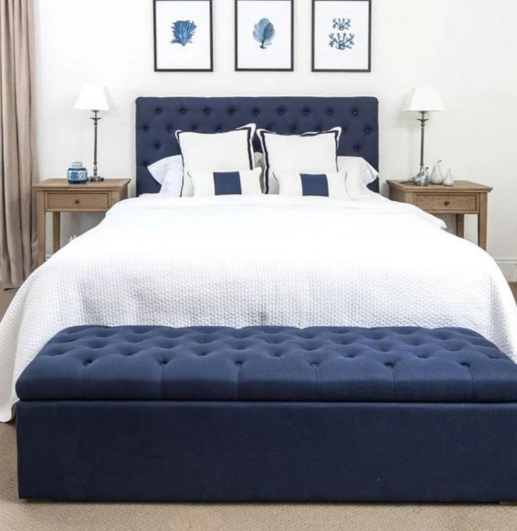 45 Hamptons Style Bedroom Ideas