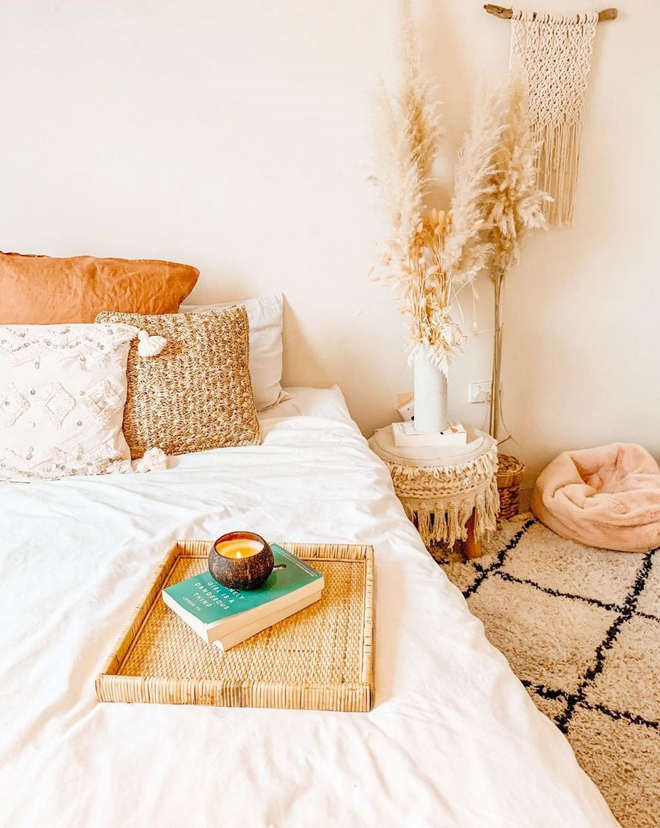 Coastal moroccan bedroom