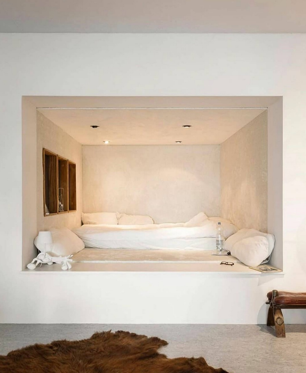 abstract bedroom design