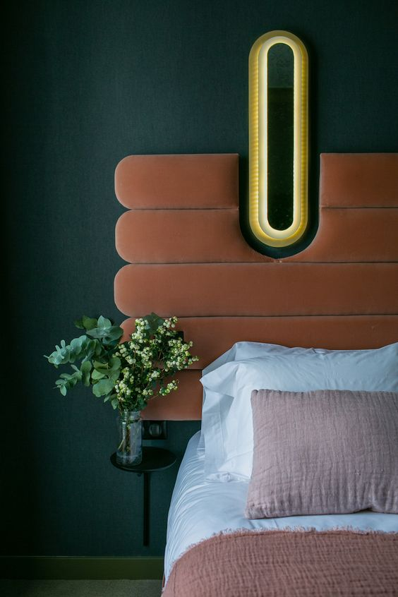 bold and graphic bedframes