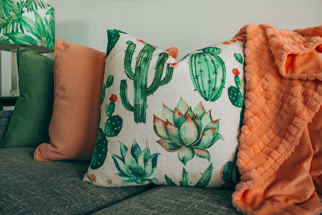A collection of pillows