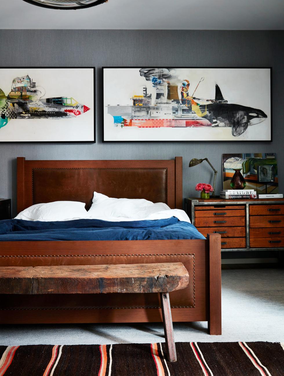 industrial-grey-bedroom