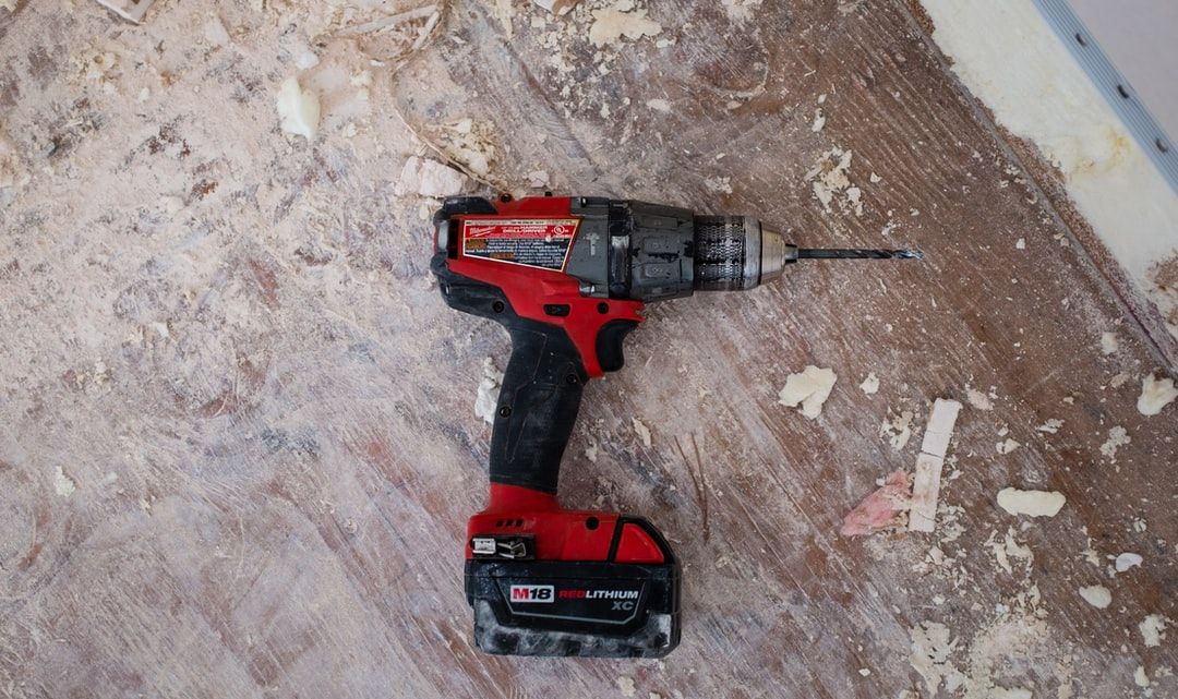 A red drill