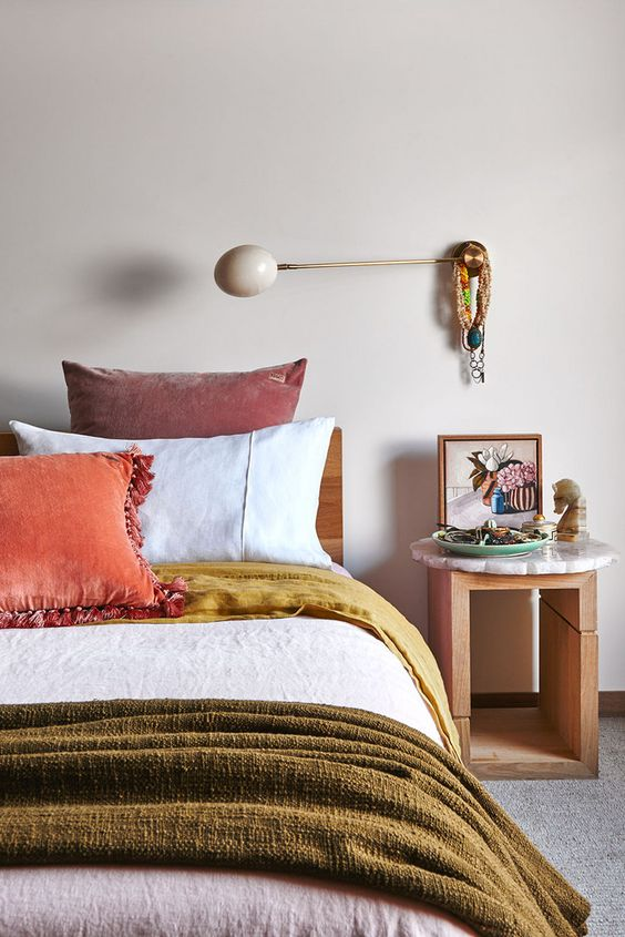 rose gold sconce and frame