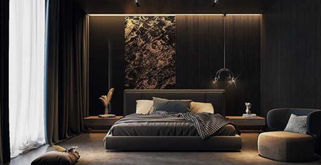 35 Beautiful black bedroom ideas