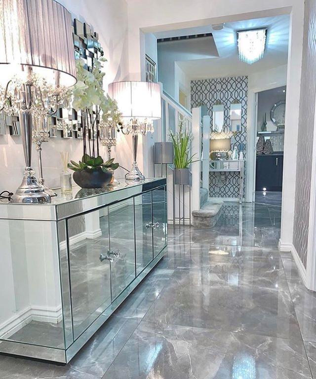 modern luxury hallway