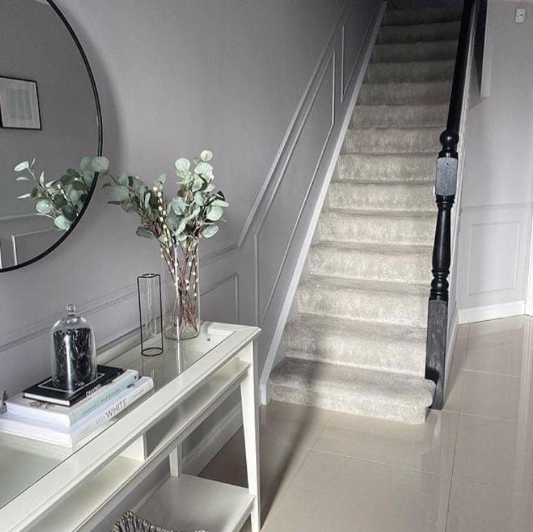 Grey panelling