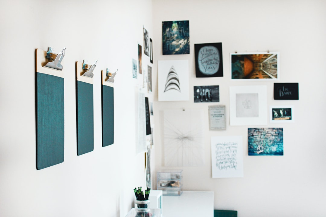 A gallery wall