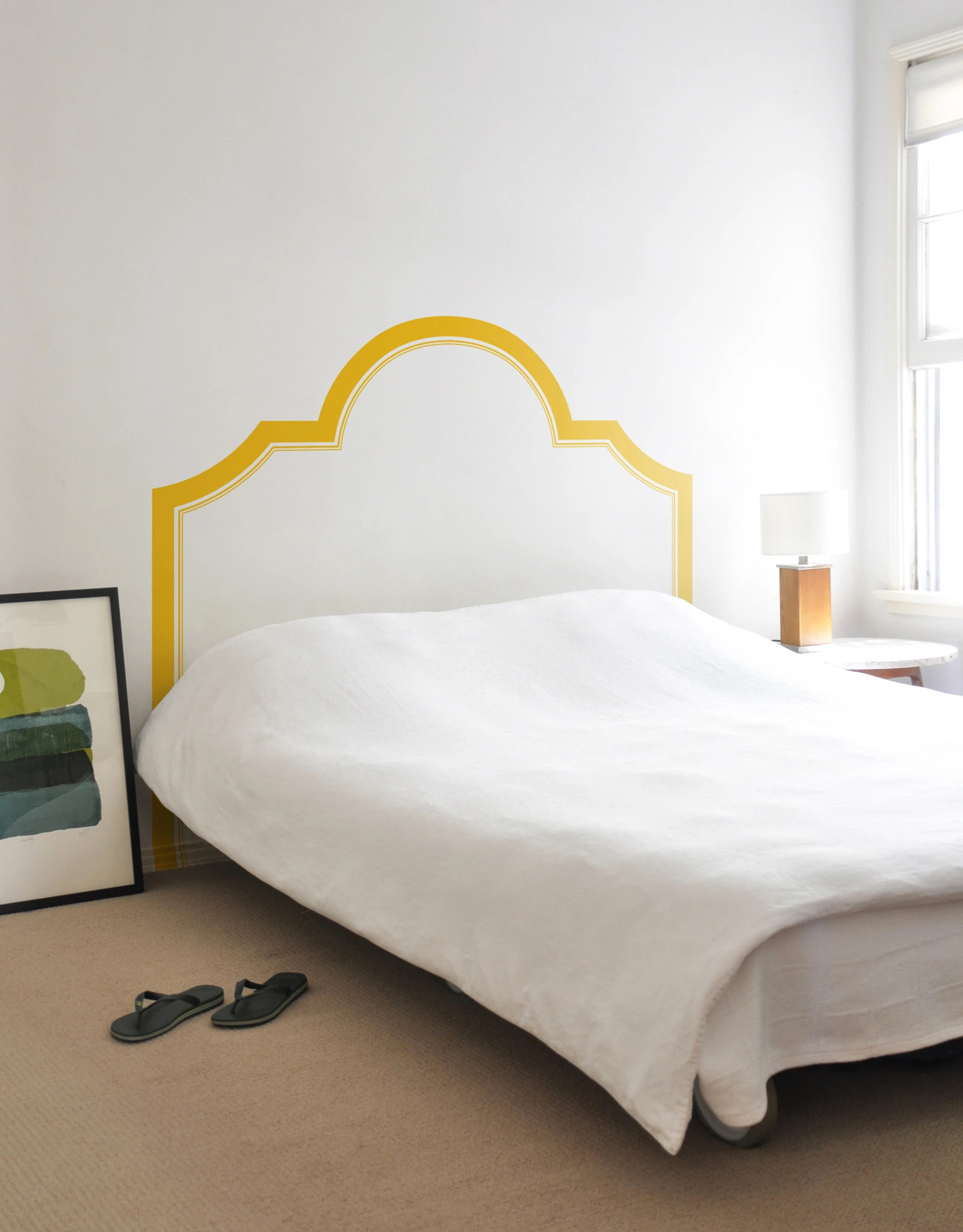 yellow-bedhead-wall-decal