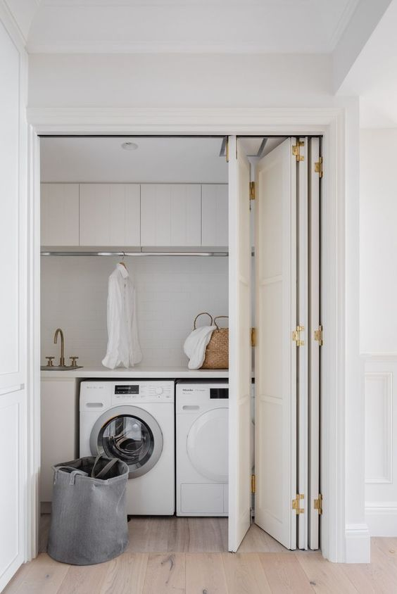 concertina doors for utility room
