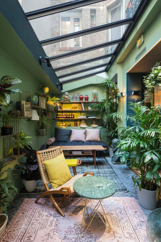cosy conservatory